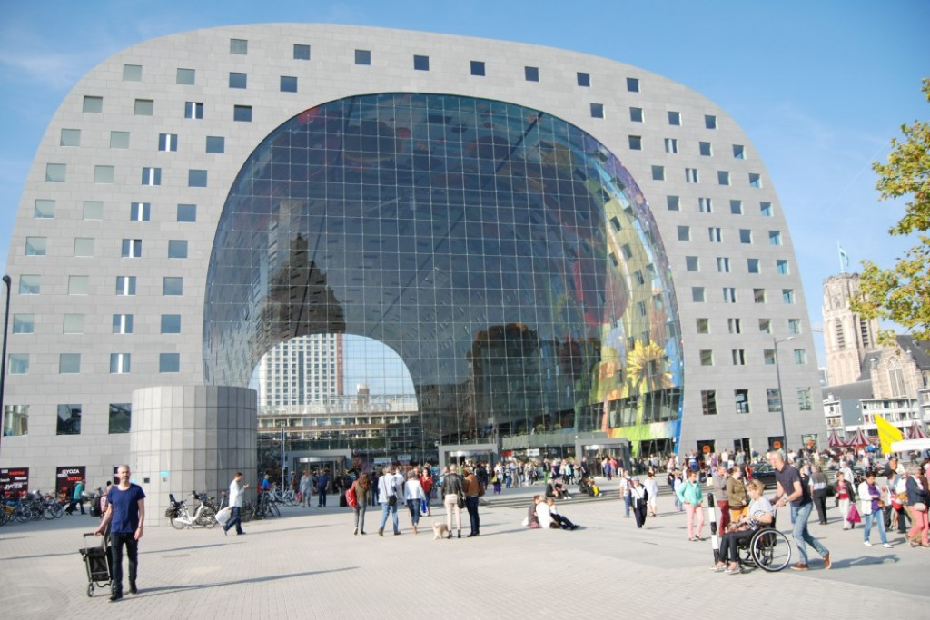 market hall markthal rotterdam. Black Bedroom Furniture Sets. Home Design Ideas