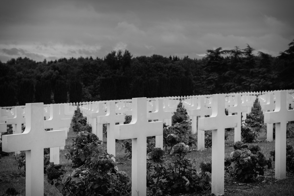 Cemetery in front of the Douaumont Ossuary