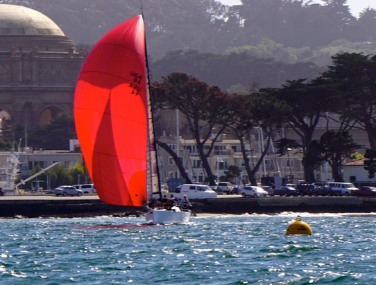 Perfect sailing at San Francisco