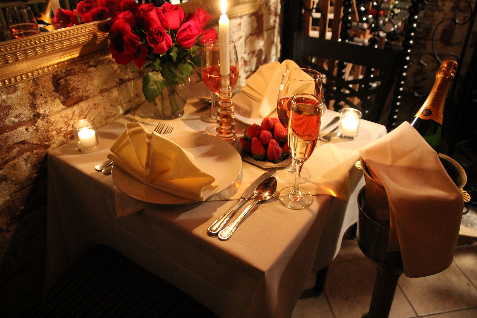 Wining and dining at Philip Marie in New York