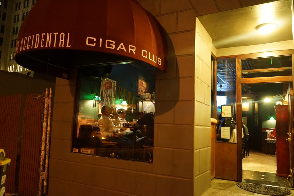 Occidental Cigar Club San Francisco