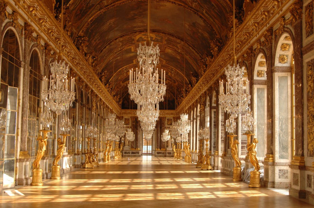 Inside the Versailles palace